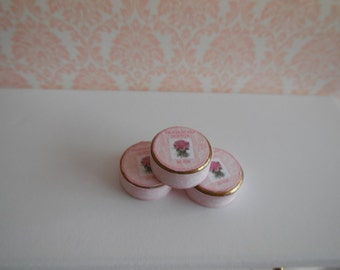 1:12 DOLLHOUSE  HAND CREAM. Roses
