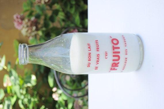 Le Bon Lait Bottle Table Decor