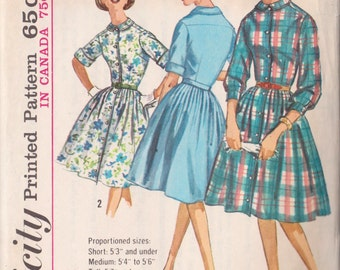Simplicity 5232 Vintage 1963 Sewing Pattern
