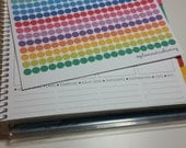 Lotsa Dots! Perfect for planners like Erin Condren, Plum Paper & Inkwell Press!