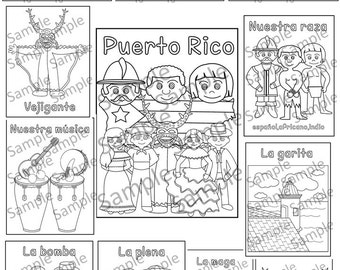 puerto rico coloring pages - Free Coloring Pages Of Puerto Rico