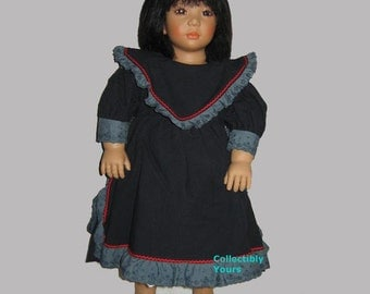 New Annette Himstedt SHIREEM,  HAND SIGNED,  Faces Of Friendship Barefoot Girl From Bali, 25 in,  1991/92 limited edition , Never Displayed.