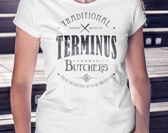 Terminus Butchers T-Shirt Zombie Apocalypse