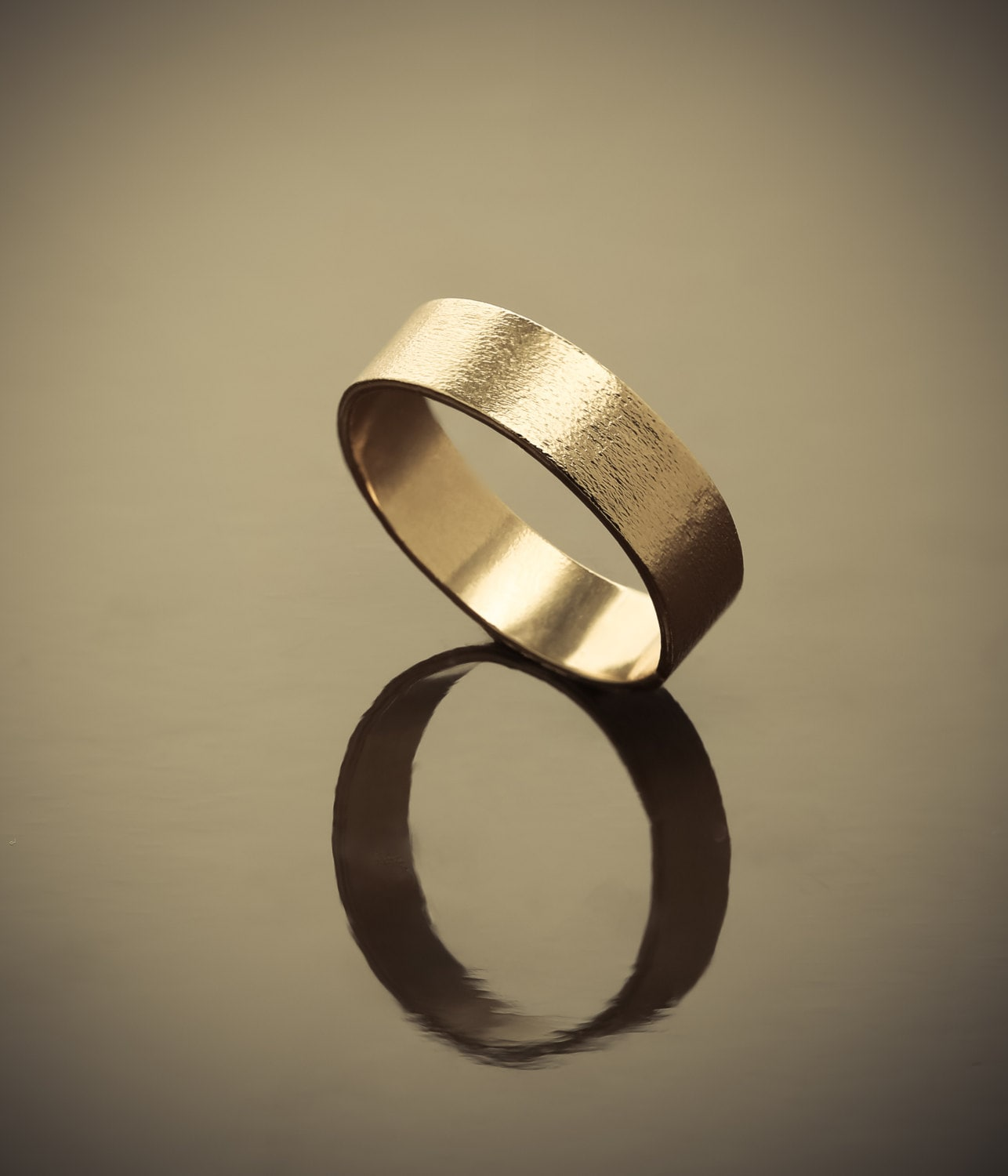 Classic gold wedding band 24k gold plated ring for by for 24k gold wedding ring