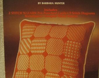 Needlepoint Basics, Leisure Arts, Pattern Leaflet #28, 1974