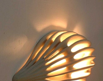 Ceramic Handmade. Wall Light.