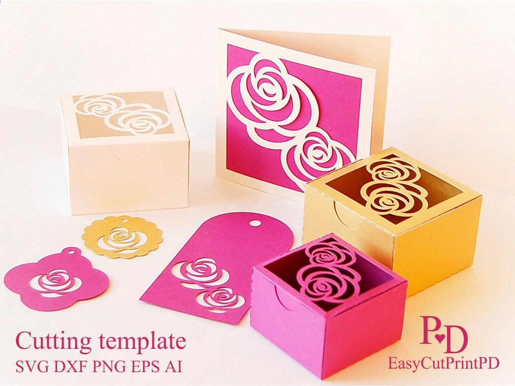 favor box template