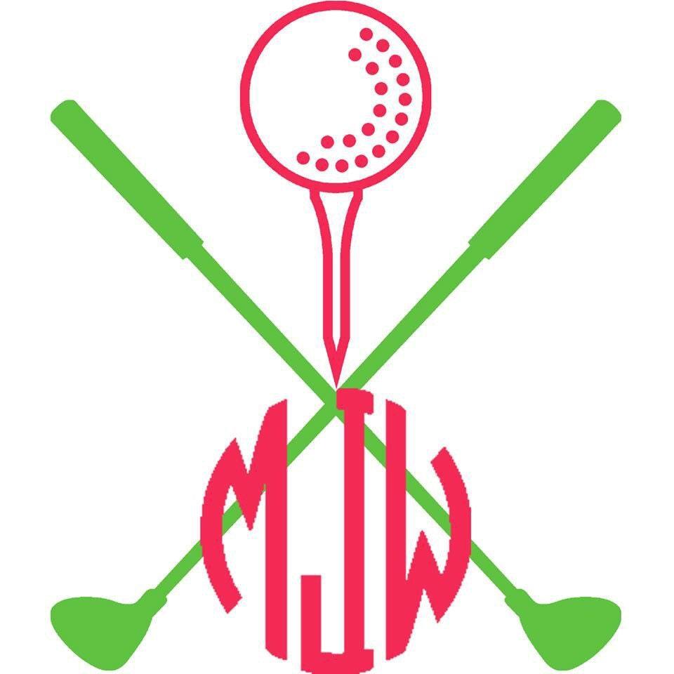 Download Golf monogram 6X6 Golf Decal Golf Ball Golf by ...