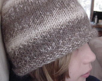 Cozy Soft Alpaca  and Merino Wool Beanie