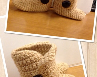 Baby Sweater Boots