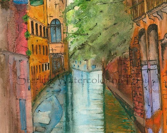 Canals of Venice - Venice, Italy