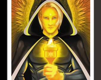 Archangel Jeremiel by Jason Mccreadie 2014.