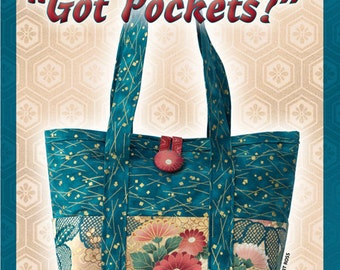 Got Pockets? Purse Sewing Pattern PDF Instant Download