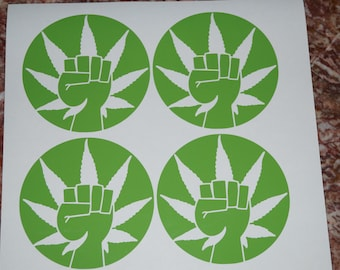 Cannabis Decals (Single)