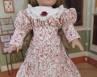 18 Inch Doll Clothes - Victorian Blouse, Skirt & Belt