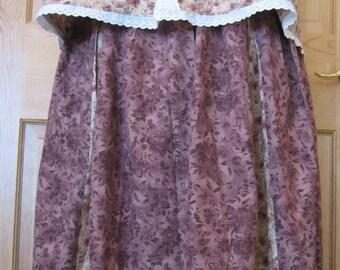 Summer SunDress Ensemble - Women's - Garden Dress - Skirt and Top- Size Medium to Large - New Favorite Dress