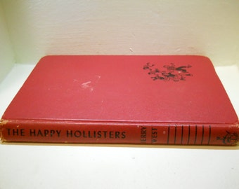 SALE!  The Happy Hollisters book by Jerry West 1953