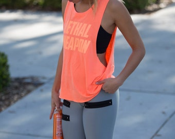 Lethal Weapon Women's Muscle Tank
