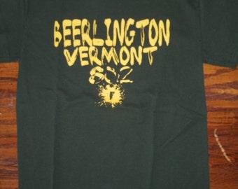 Beerlington Vermont 802 T-Shirt - Burlington Vermont Shirt - Beer Shirt - Vermont Beer - Vermont beer Clothing - 802 clothing - 802 store