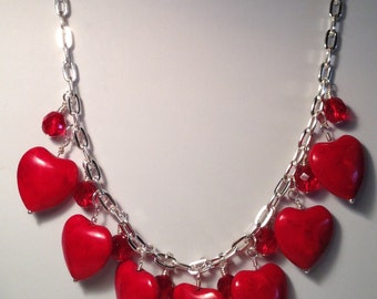 Hearts a Fire Necklace
