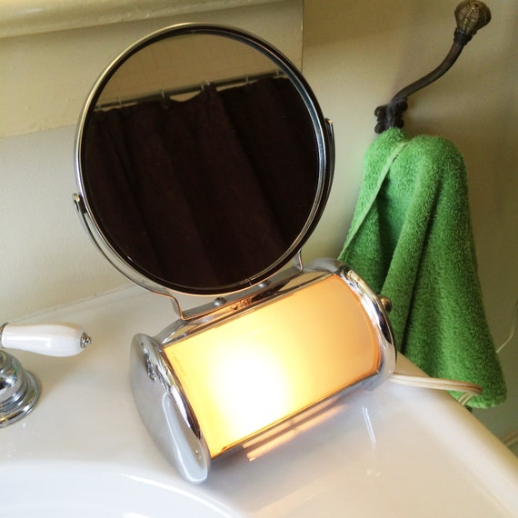Vanity Mirror With Light by ACME by TwoBeContinued on Etsy