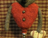 Primitive n Sweet Heart  Bear MakeDo