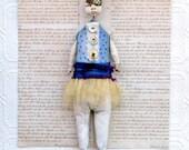 Assemblage Mixed Media Art Doll Jasper
