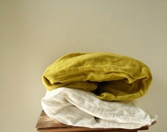 LINEN PILLOW CASES - Set of 2 / linen bedding / bed linen / eco / linen pillow sham / euro / organic / flax / made in australia / pamelatang