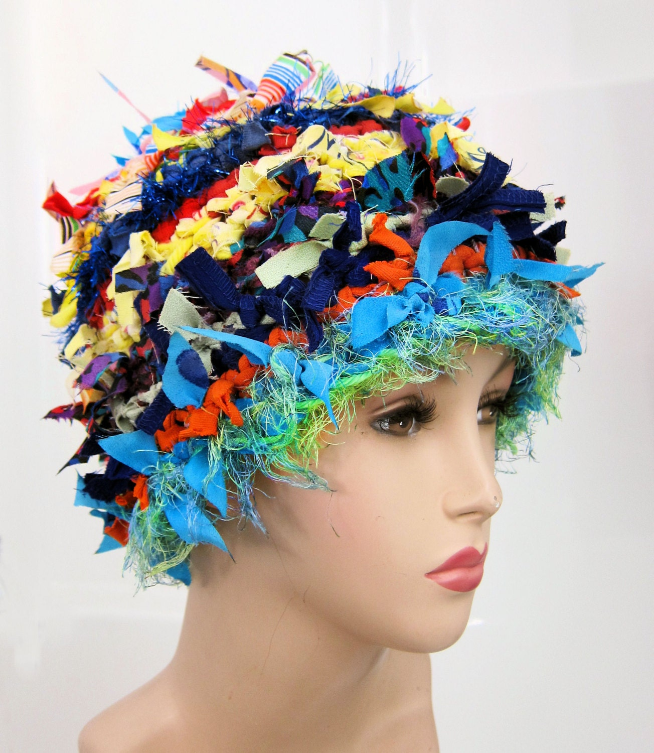 Crazy Crochet Hat