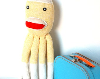 Grasping Soft Toy for Baby SOCKTOPUS Octopus Plush Softie