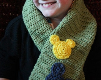 Reversable Mickey Mouse Scarf