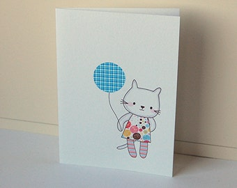 Kitty Note Cards, Blank Note Cards, Note Card Set, Birthday Cards, Handmade Cards, Greeting Cards, All Occasion Cards, Note Cards,