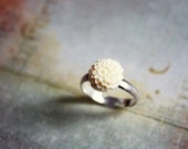 Little Mum Flower Ring, Romantic Dainty Jewelry