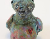 Beaver Totem Figurine Holiday Ornament