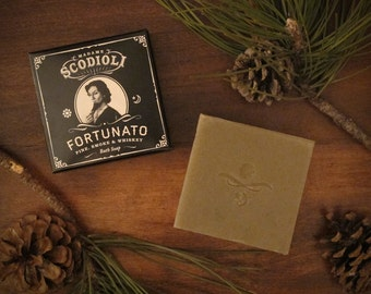 Fortunato Soap Bar - Pine, Smoke & Whiskey
