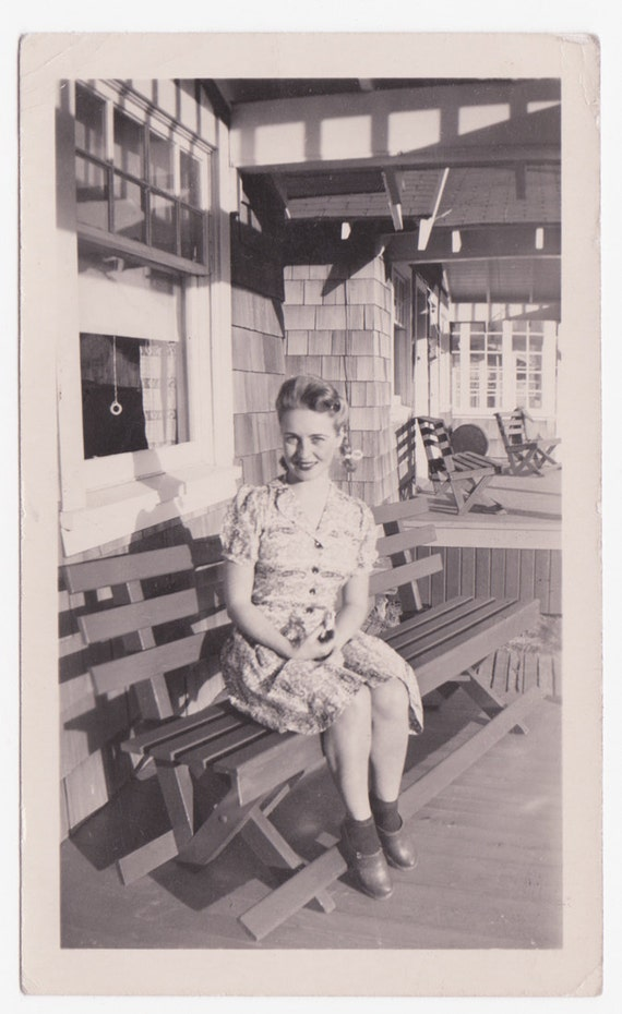 Exterior Of Mudroom Addition In Portland Oregon I Love The Porch: Our Front Porch Vintage Photograph Of 1940s Woman In Braids