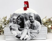 Family Gift Custom Photo Ornament Christmas Gift Housewarming Gift Personalized Gift For the Family Gift For Grandparents Special Christmas