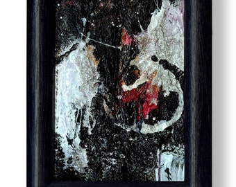 Manifesting Desire 2 - Original Framed Mixed Media art painting by Kathy Morton Stanion EBSQ