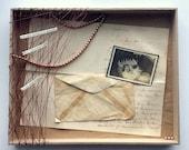 Weavings - Mixed Media Art Assemblage Box