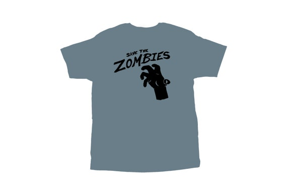 Save The Zombies T shirt