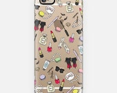 Girly Things Clear Phone Case iPhone 6/6S, 6 plus, 5/5s