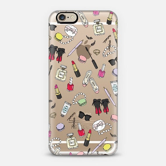 Girly Things Clear Phone Case iPhone 6/6S 6 plus by ...