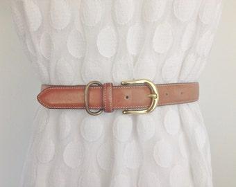 Tannery - Vintage Leather Belt.