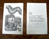 ON EFFECTIVE ENGAGEMENT, a zine about social practice art