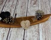 Fishing Cake Topper, Canoe Cake Topper, Fishing, Boat Cake Topper, Canoe, Fisherman Cake Topper