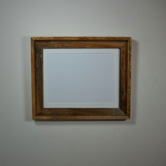 Wood Picture Frame 11x14 With Mat For 8x10 Or 8x12 By