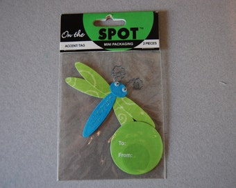 Dragonfly accent/tag
