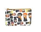 Harry Potter Pouch / Hogwarts Students Camera Bag / Cute Gryffindor Make Up Bag