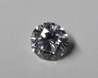 3/4 Ct Loose Diamond G Color, I-2 Clarity, Round Cut