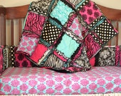 Easy Peasy Rag Quilt Pattern - Baby Quilt Pattern - Kid Sewing Pattern - Easy Quilt Patterns - Quick Quilt Patterns - Simple Quilt Pattern